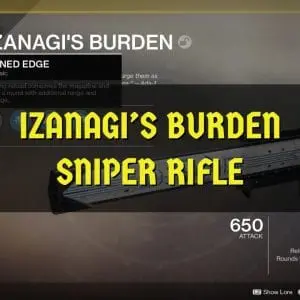 Izanagi's Burden