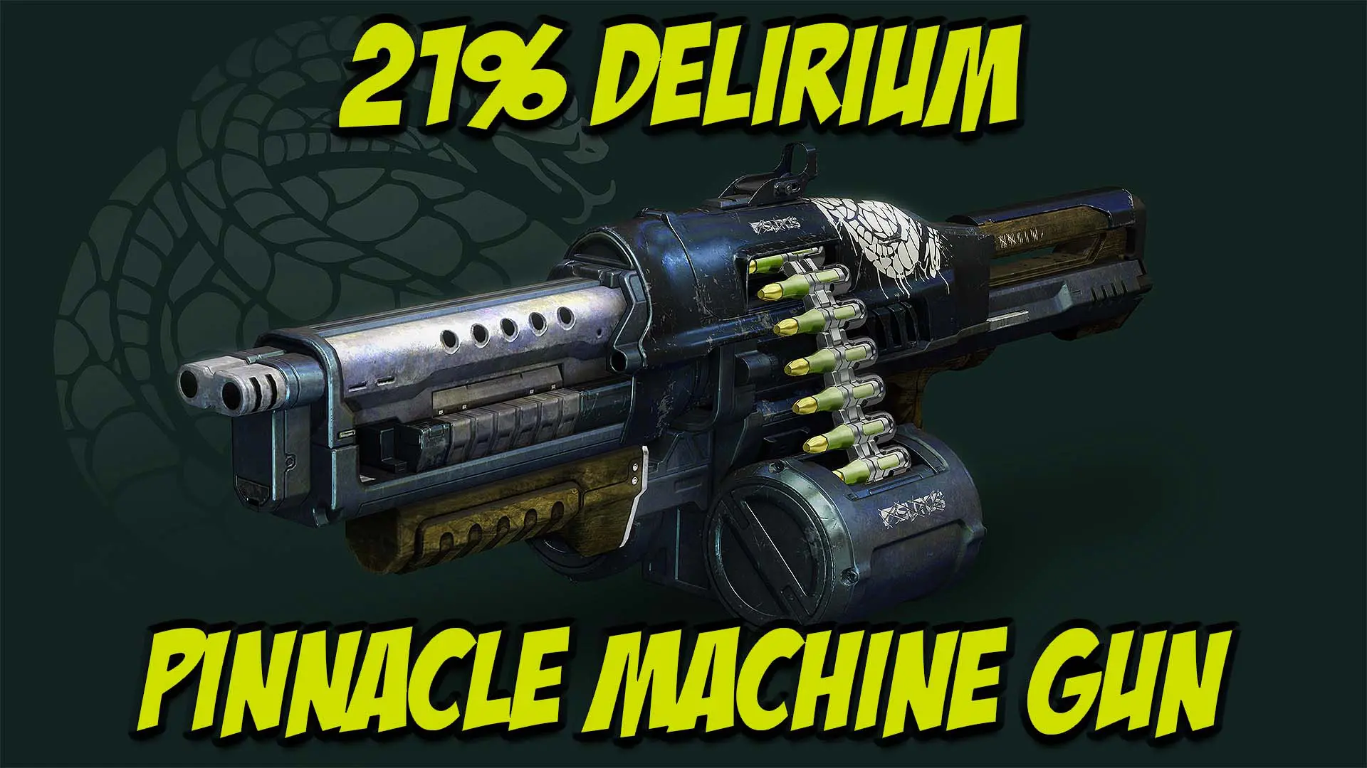 21% Delirium Pinnacle Heavy Machine Gun