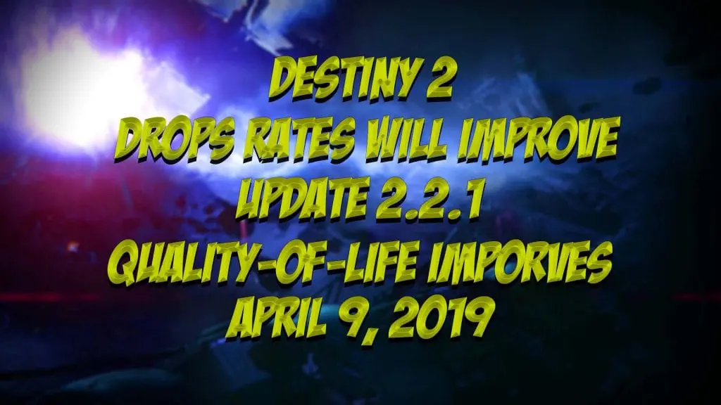 Destiny 2 Improves Quality of Life