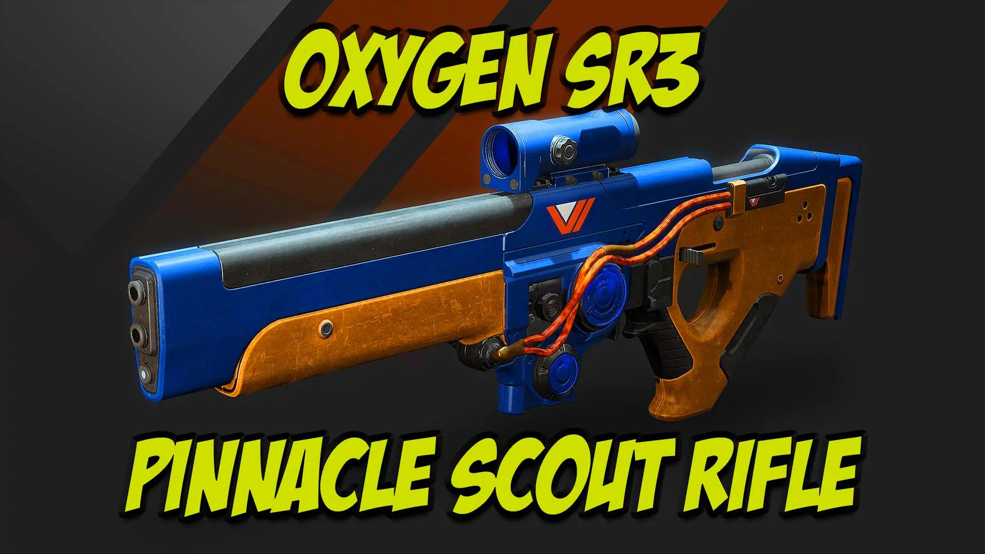 Oxygen SR3 Pinnacle Scout Rifle