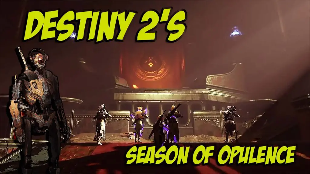 Destiny 2 Returning Exotics In Season Of Opulence Six